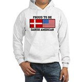 Proud Danish American Hoodie