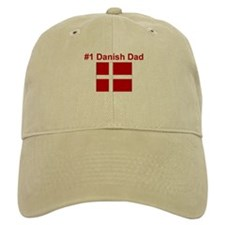 #1 Danish Dad Baseball Cap