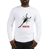 Nature Bites - Scorpion red Long Sleeve T-Shirt