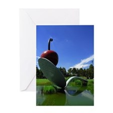 Cherry Spoon 3 Greeting Card