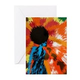 Righteous Afro Funk Greeting Cards (Pk of 20)