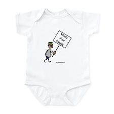 Who's Your Fascia Infant Bodysuit