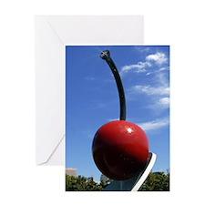 Cherry Spoon 2 Greeting Card