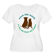 Cute Save planet T-Shirt