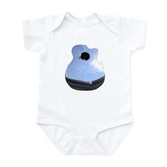 Chrome Guitar Infant Bodysuit