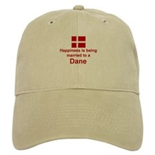 Happily Married To A Dane Baseball Cap