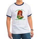 Redheaded Irish Girl Ringer T