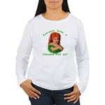 Redheaded Irish Girl Women's Long Sleeve T-Shirt