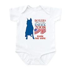 Cute Bark obama Infant Bodysuit