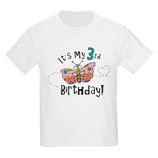 Butterfly Birthday Third T-Shirt