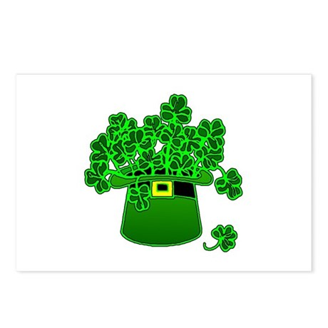 Leprechaun Hat Postcards (Package of 8)