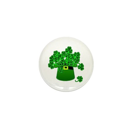 Leprechaun Hat Mini Button (100 pack)