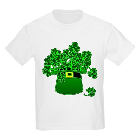 Leprechaun Hat Kids Light T-Shirt