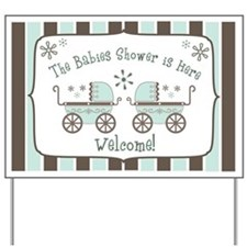 Babies Shower Yard Sign