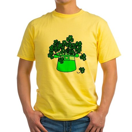 Leprechaun Hat Yellow T-Shirt
