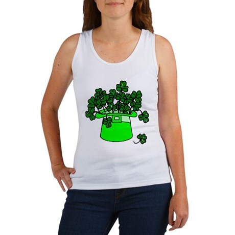 Leprechaun Hat Women's Tank Top