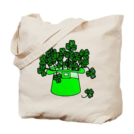 Leprechaun Hat Tote Bag