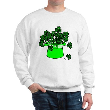 Leprechaun Hat Sweatshirt