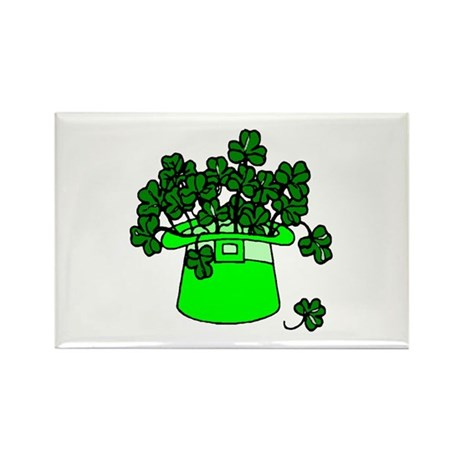 Leprechaun Hat Rectangle Magnet (100 pack)
