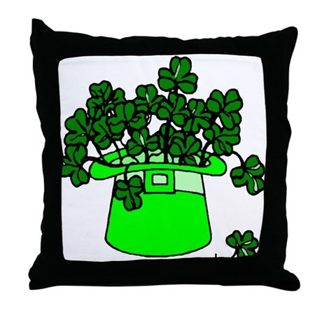 Leprechaun Hat Throw Pillow