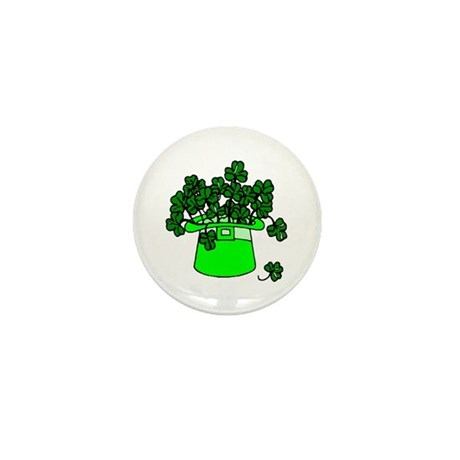 Leprechaun Hat Mini Button