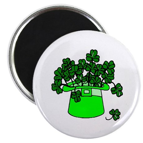 "Leprechaun Hat 2.25"" Magnet (100 pack)"