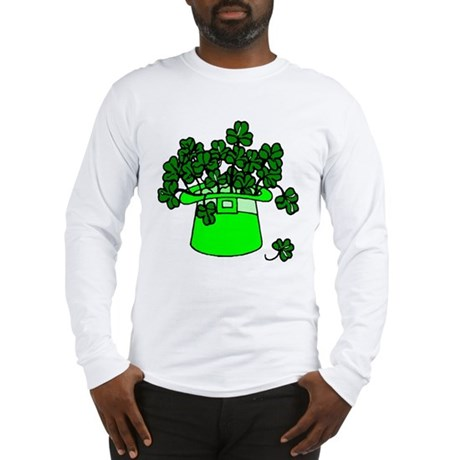 Leprechaun Hat Long Sleeve T-Shirt