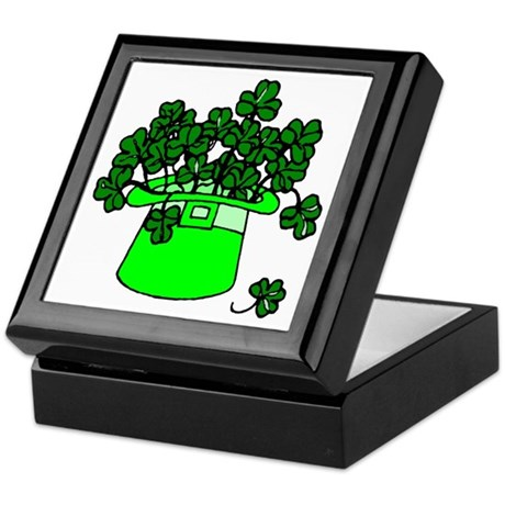 Leprechaun Hat Keepsake Box