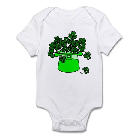 Leprechaun Hat Infant Bodysuit