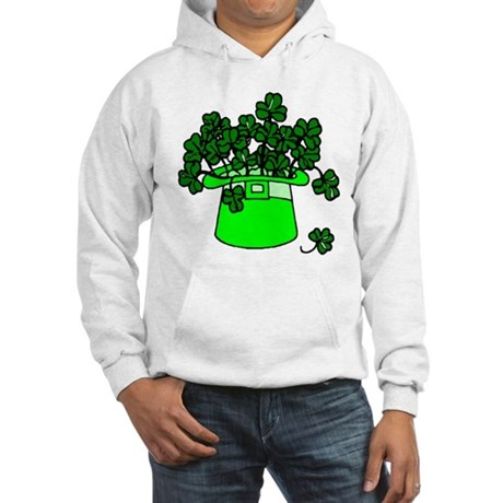 Leprechaun Hat Hooded Sweatshirt