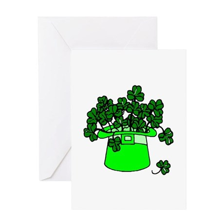 Leprechaun Hat Greeting Card