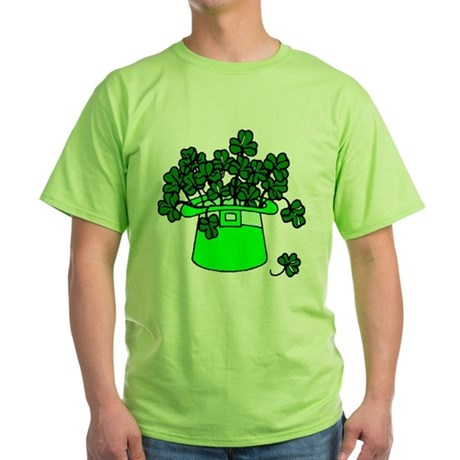 Leprechaun Hat Green T-Shirt