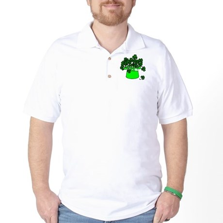 Leprechaun Hat Golf Shirt