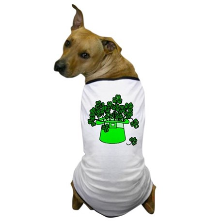 Leprechaun Hat Dog T-Shirt