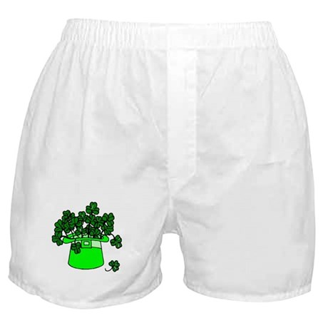 Leprechaun Hat Boxer Shorts