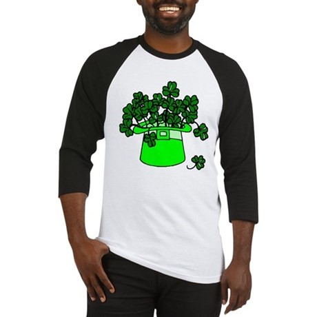 Leprechaun Hat Baseball Jersey