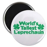 World's Tallest Leprechaun 2.25&quot; Magnet (10 pack)