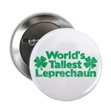 "World's Tallest Leprechaun 2.25"" Button (100 pack)"