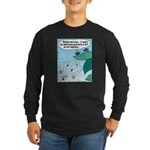 Spider Web Hits Long Sleeve Dark T-Shirt