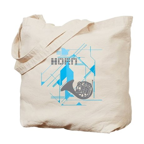 Tech Horn Tote Bag