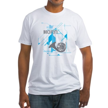 Tech Horn Fitted T-Shirt