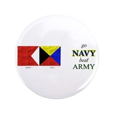 "Bravo Zulu Beat ARMY! 3.5"" Button"