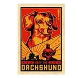 Obey the Dachshund! Dictator Postcards (8)