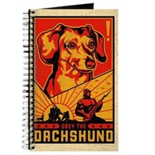 Obey the Dachshund! dictator Journal