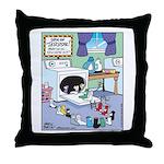 Socks Horror Spin Throw Pillow