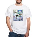 Socks Horror Spin White T-Shirt