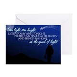 Star light, star bright (fian Greeting Card