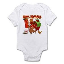 Barnyard 2nd Birthday Onesie
