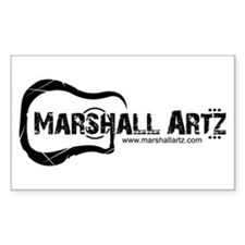 Marshall Artz Rectangle Decal