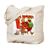 Barnyard 7th Birthday Tote Bag